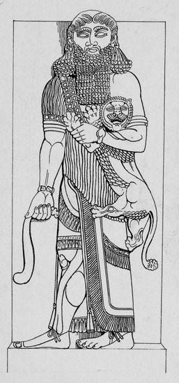 rencontre entre gilgamesh et enkidu