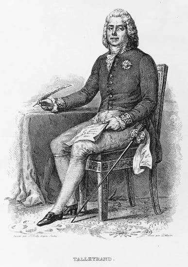 the life and the political career of charles maurice de talleyrand Throughout his ecclesiastical and diplomatic career, charles-maurice de talleyrand-p rigord pursued the opposite of what would nowadays be considered an ethical foreign policy.