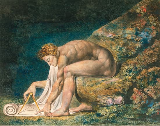 William Blake, Newton