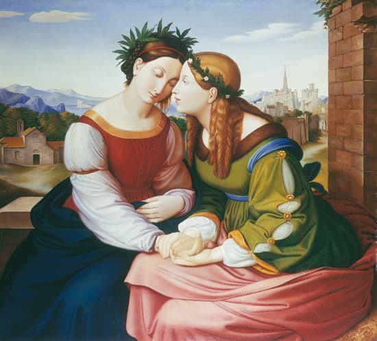 Johann Friedrich Overbeck, Germania et Italia