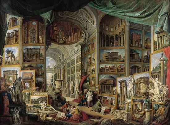 Encyclop die larousse en ligne mus e latin museum temple - Cuisine de la rome antique ...