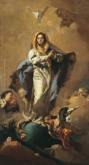 Giovanni Battista Tiepolo, l'Immaculée Conception