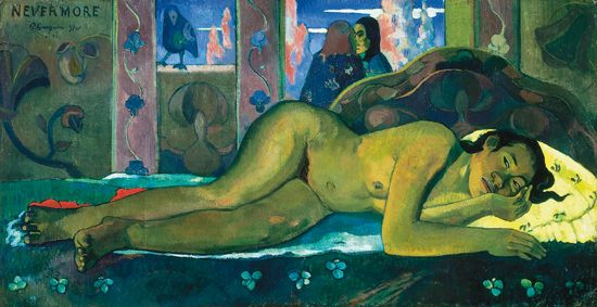 Paul Gauguin, <i>Nevermore</i>