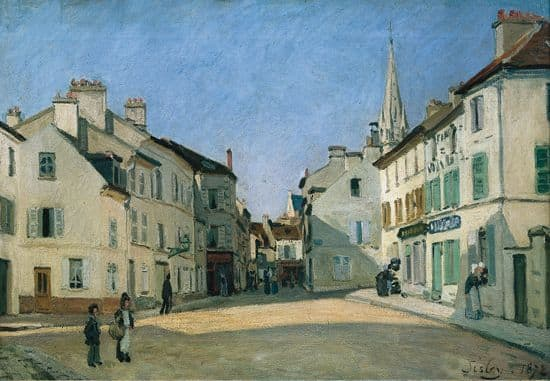 Alfred Sisley, <i>Place à Argenteuil</i>