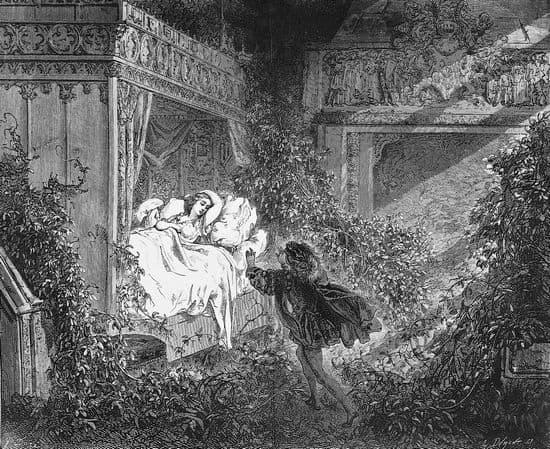 Pantagruel Gustave Doré, illustration pour la Belle au bois dormant ~ Illustration La Belle Au Bois Dormant