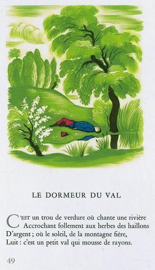 Encyclop die larousse en ligne arthur rimbaud - Le dormeur du val rimbaud ...