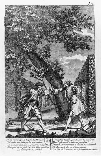 Dispute de Voltaire et de Jean-Jacques Rousseau
