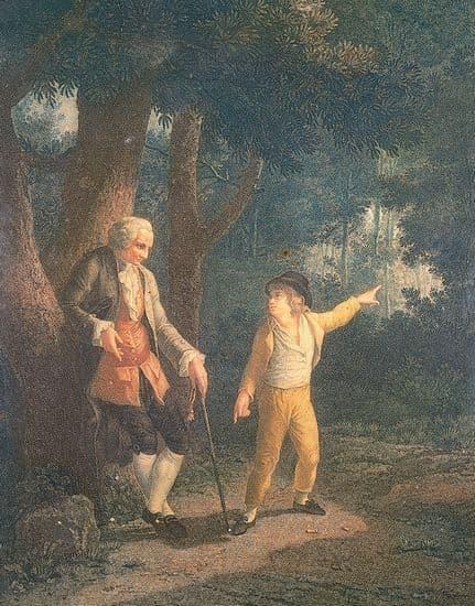 Jean-Jacques Rousseau à Ermenonville