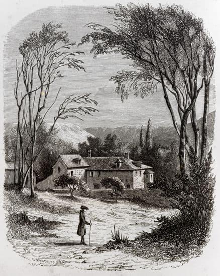 Jean-Jacques Rousseau, les Confessions : l'ermitage à Montmorency