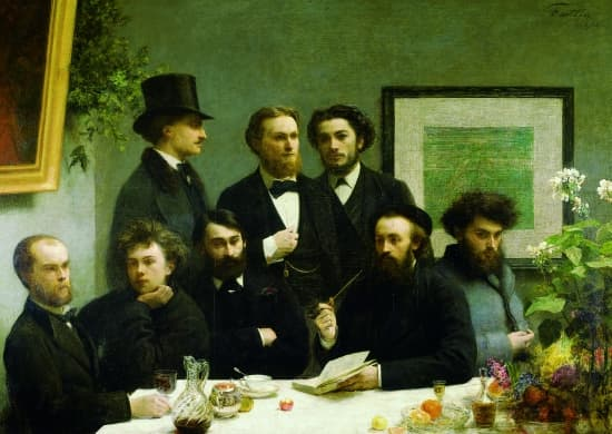 Henri Fantin-Latour, Un coin de table