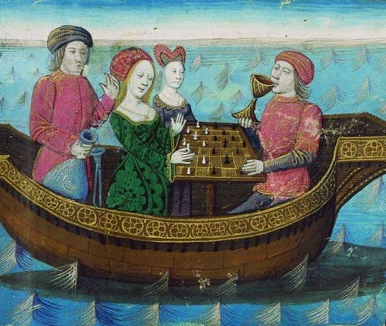 <i>Tristan et Iseut buvant le philtre d'amour</i>