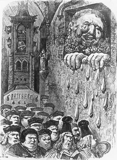 Gustave Doré, illustration pour les <i>Œuvres</i> de François Rabelais