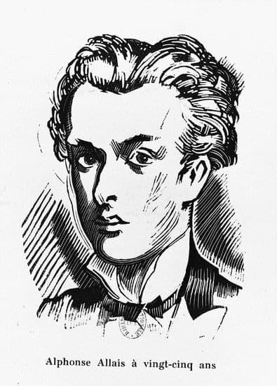 Alphonse Allais à 25 ans