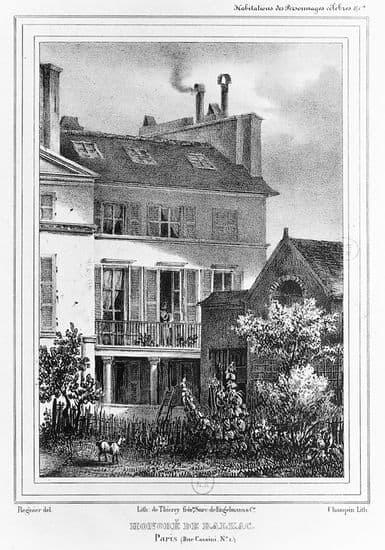 La maison d'Honoré de Balzac à Paris