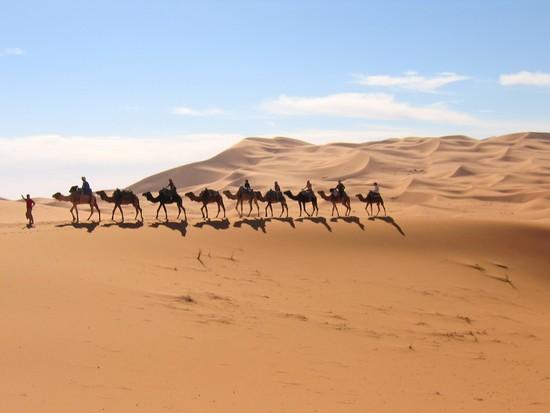 pluie sable sahara