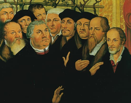 Lucas Cranach l'Ancien, Luther et ses collaborateurs