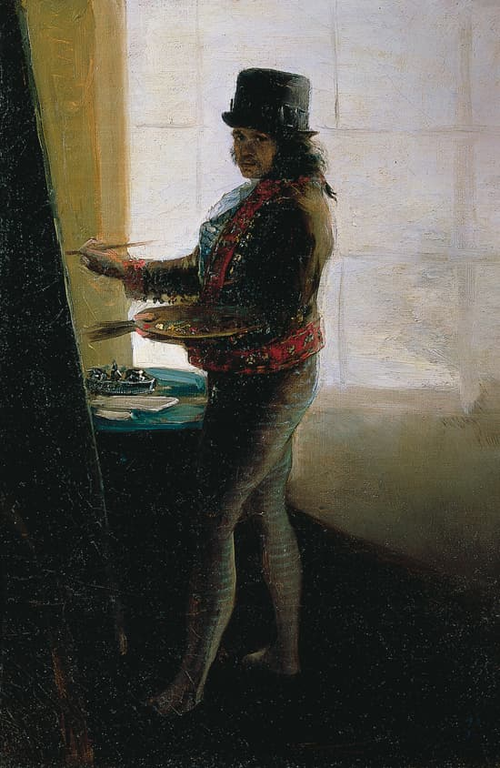 Francisco de Goya, Autoportrait