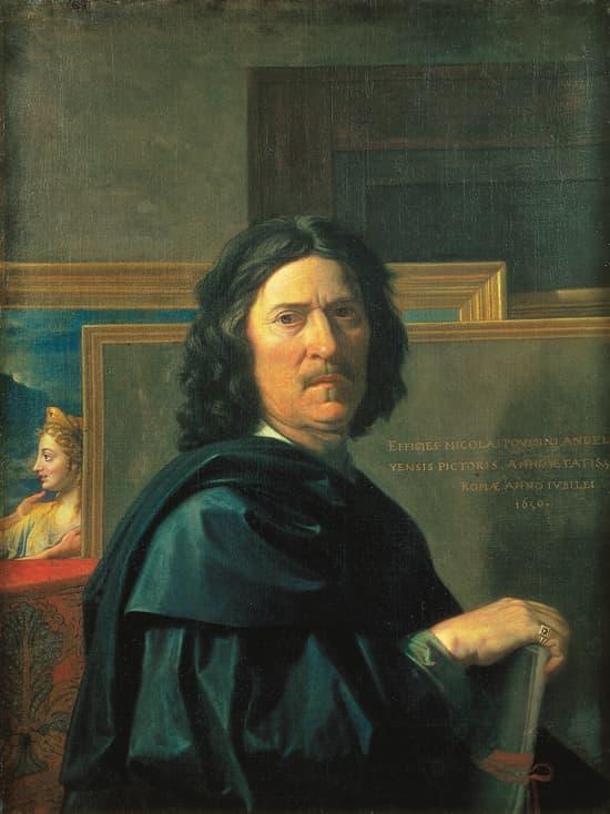 Nicolas Poussin, <i>Autoportrait</i>