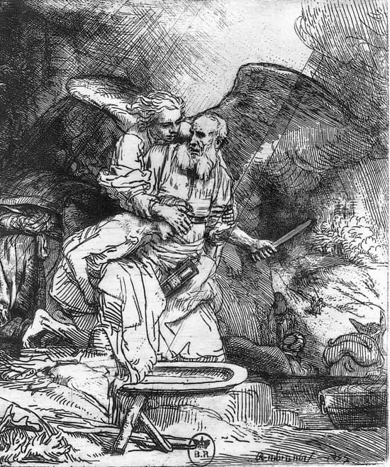 Rembrandt, le Sacrifice d'Abraham