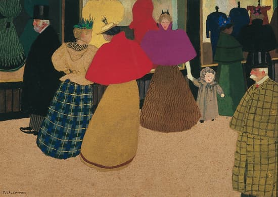 Félix Vallotton, les Passants