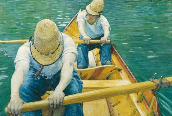 Gustave Caillebotte, Canotiers