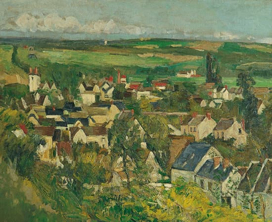 Paul Cézanne, Vue d'Auvers