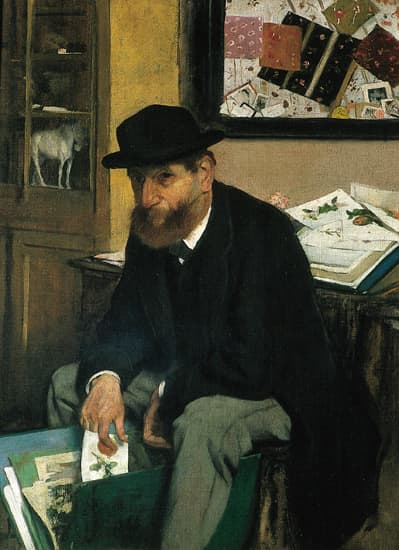 Edgar Degas, <i>l&#39;Amateur d&#39;estampes</i>