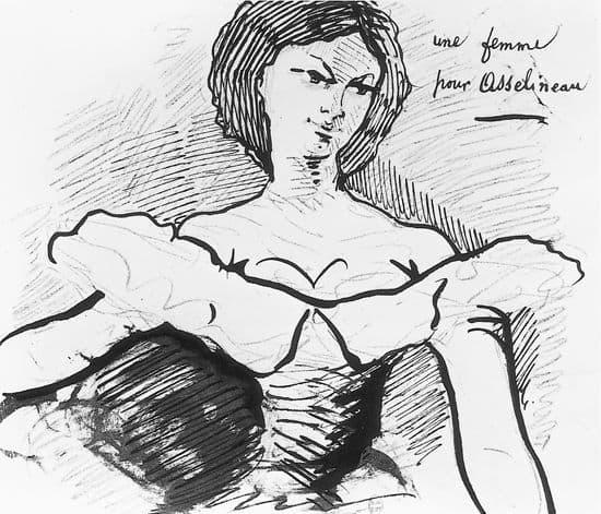 Charles Baudelaire, Mme Sabatier