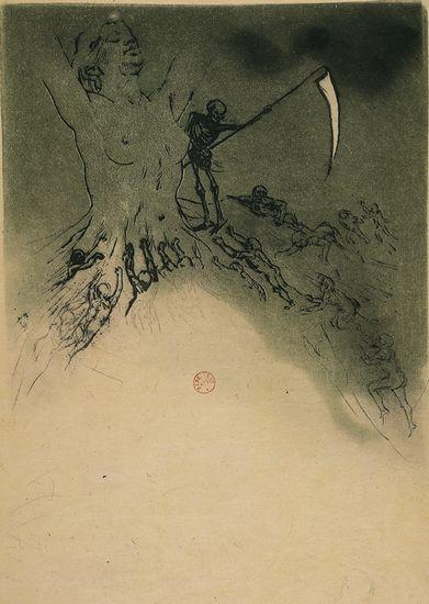 Charles Baudelaire, les Fleurs du mal  la Mort des artistes