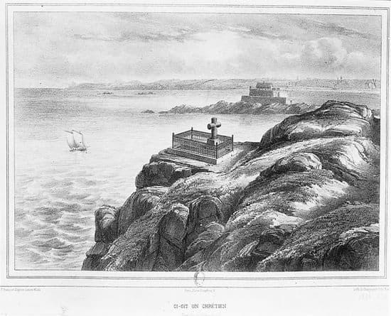 Encyclopédie Larousse en ligne - Tombe de François René de Chateaubriand