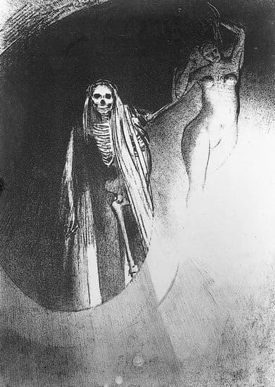 Gustave Flaubert, <i>la Tentation de saint Antoine</i> : la mort