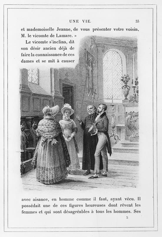 Dissertation roman vie maupassant