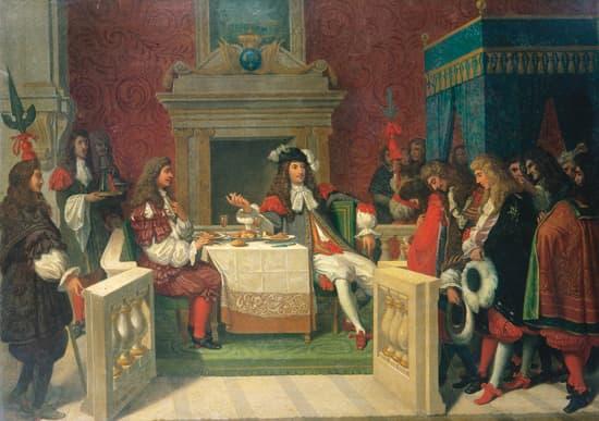 Ingres, <i>Louis XIV et Molière déjeunant à Versailles</i>