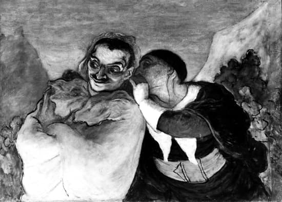 Honoré Daumier, <i>Crispin et Scapin</i>