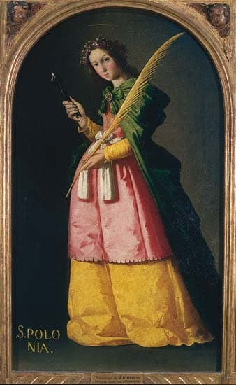 Francisco de Zurbarán, Sainte Apolline