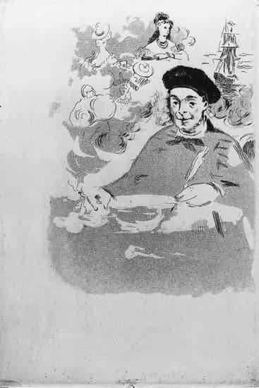 Édouard Manet, illustration des <i>Ballades</i>