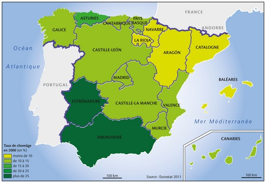 Encyclopedie Larousse En Ligne Espagne Population