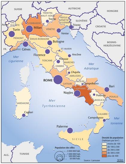 Les Plus Grandes Villes D Italie