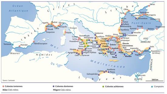 Encyclopédie Larousse en ligne Grèce : histoire de la