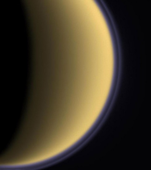 Titan, satellite naturel de Saturne