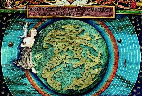 Figuration du globe céleste d'Aristote