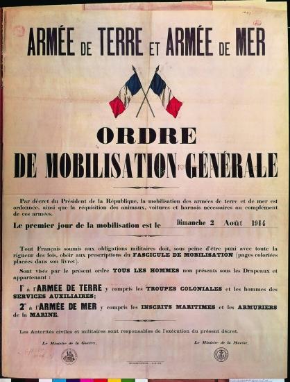 """Résultat de recherche d'images pour """"2 aout 1914"""""""