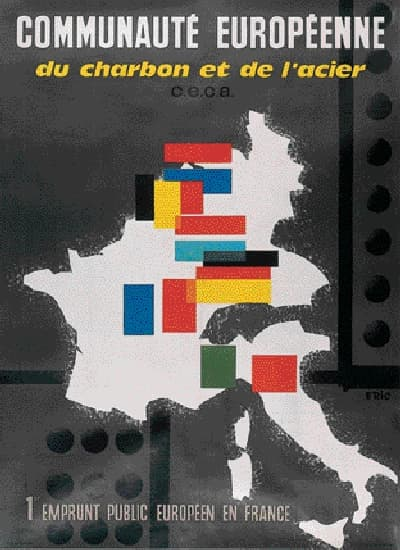 Robert Schuman, l'instigateur de la CECA