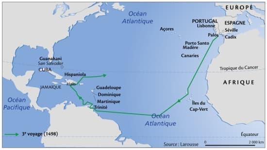 Sujet d étude : Voyages et découvertes (XVIè au XVIIIè ...