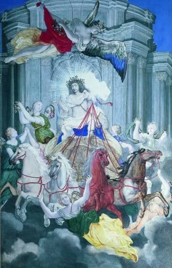 Louis XIV en Apollon