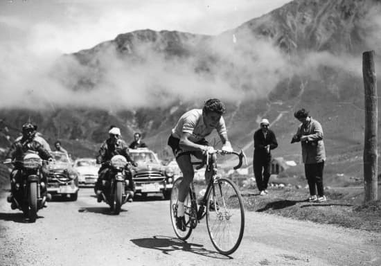 Jacques Anquetil dans le Tour de France 1957