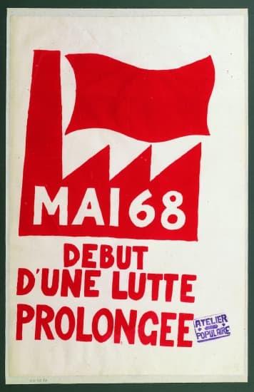 Encyclopédie Larousse en ligne - événements de mai 1968