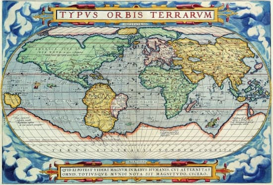 Carte Du Monde Au Moyen Age | popkensburg