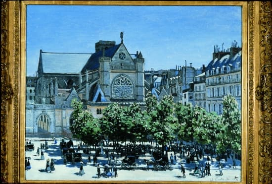 Claude Monet, Saint-Germain-l'Auxerrois