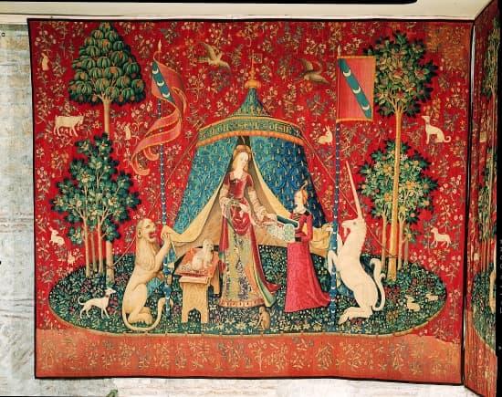 Encyclop die larousse en ligne tapisserie de tapis - Tapisserie dame a la licorne ...